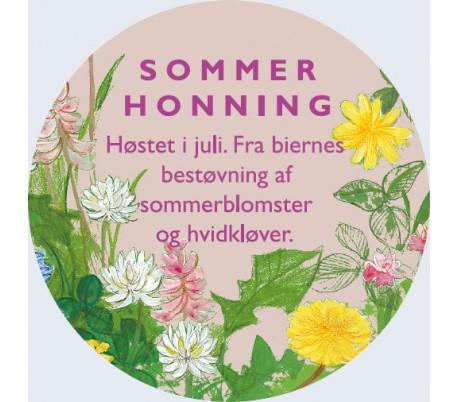 Sommerhonning etiket ( DBF ) -dbf-kbh-kobenhavn-sjaelland-pris