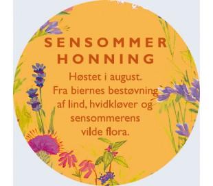 Sensommerhonning etiket ( DBF ) -kbh-kobenhavn-sjaelland-pris