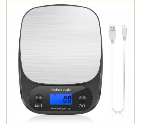 Vægt, digital, 0.1 g - 5 kg