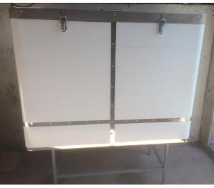 Vokssmelter/rammerenser, rustfri stål
