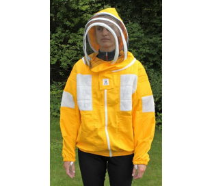 Exclusiv kvalitets jakke m. aftagelig hætte/slør