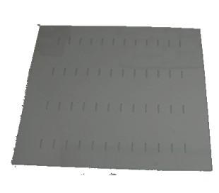 Dækplade klar plast 12x10